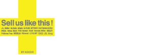 Sell Us Like this! BY ADOOR  FURNITURE BUYING PROJECT  USED家具買取 SellUsLikeThis!